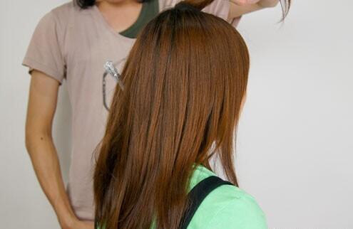 韩式花苞头的扎法