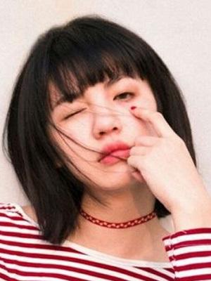 时尚流行短发图片2019