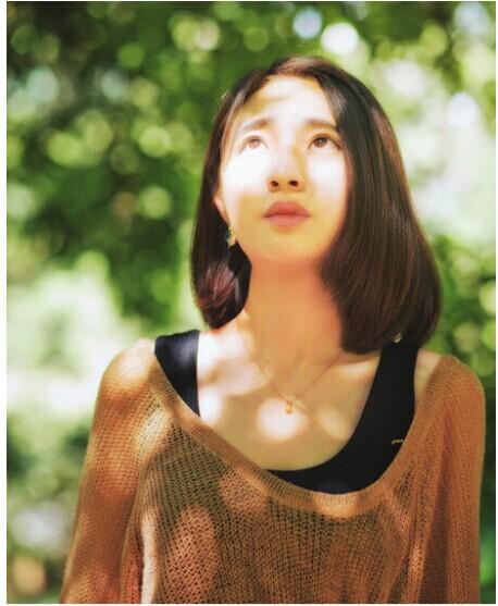 夏季清纯女生短发发型