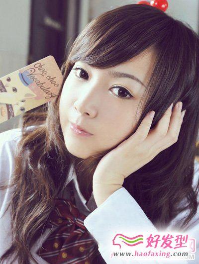 校园MM最爱的甜美学生发型