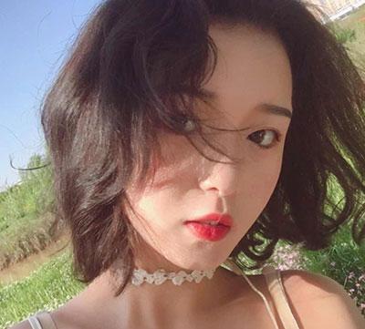 女学生短发图片 低调短发发型 女生短发图片1