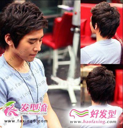 早春帅气韩式发型  男生发型大转变