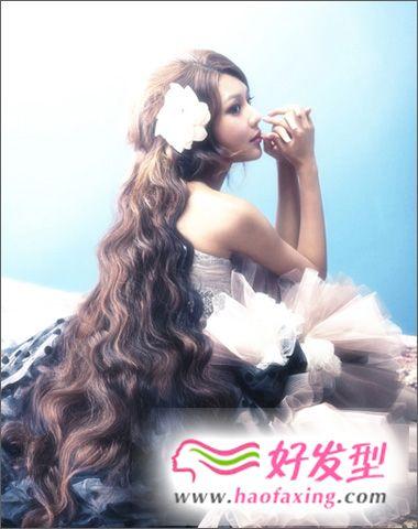 少女时代最新华丽发型图片