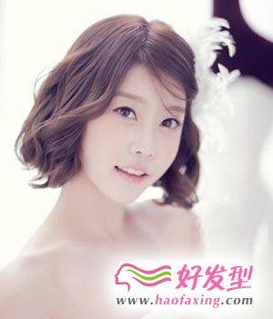 韩式简约新娘发型 打造清新脱俗气质