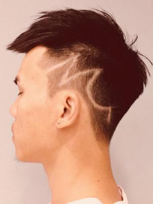干净利落的男生发型