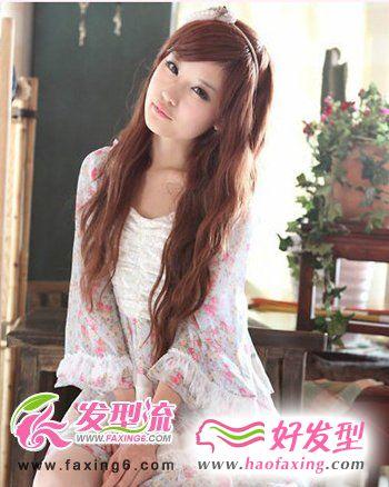 今年最流行的发型   呈现甜美少女气息