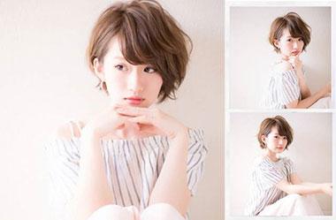 清爽女生短发 短发女生图片 日系短发发型2