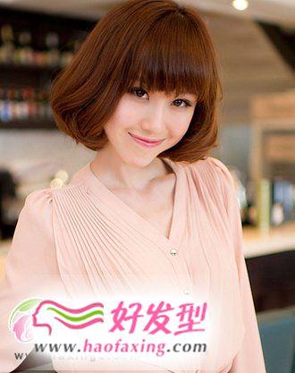 最时尚百搭梨花头  演绎灵动优雅女生发型