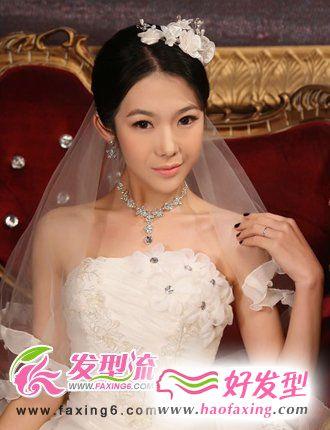 最美新娘发型 缔造美丽人生