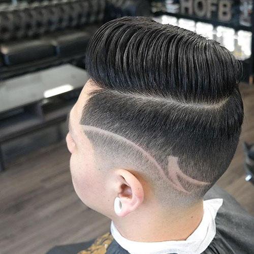 男生简单发型 男生渐变发型 简单渐变发型男10