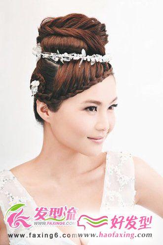 浪漫6月新娘发型 留住最美一刻