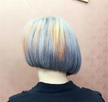 短发斜后切发型 今年流行发型 不规则沙宣发型3