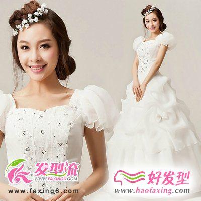 最美新娘发型设计 绽放幸福美丽