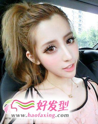 领略刘海发型魅力  五款人气大热的刘海发型图片