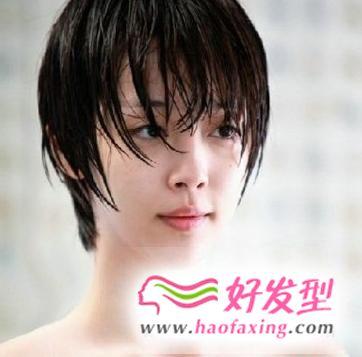 崔雪莉短发发型图片鉴赏 致美丽的你展现时尚短发气质