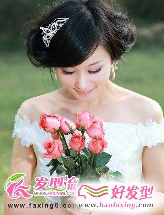最热款新娘发型 新娘发型图片