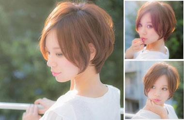 清爽女生短发 短发女生图片 日系短发发型11