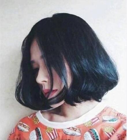 夏天最新的中短发发型图片大全07