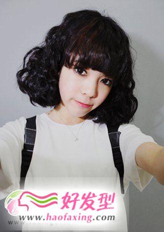 2012流行发型 可爱蛋卷头