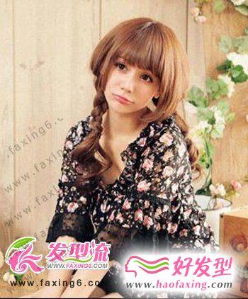优雅可爱韩式发型  彰显时尚气质