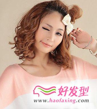 九款青春童颜美女减龄发型推荐