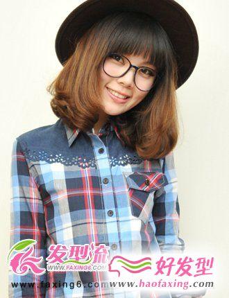 2012流行发型  流行甜美风发型图片