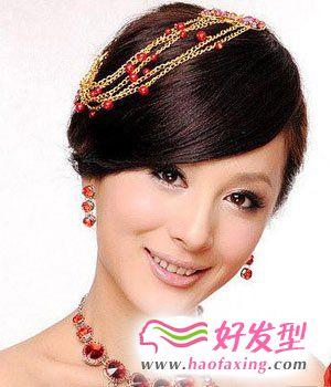 种不同风格的新娘发型