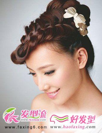 人气新娘发型 变身最美新娘