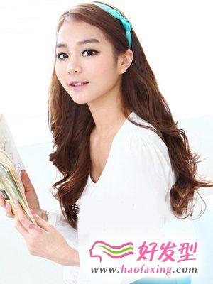 韩式风格女生发型  浪漫卷发篇