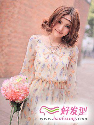 时髦刘海发型 清新度过春夏