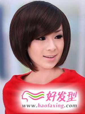潮流女生短发发型设计图片 让潮流跟你走