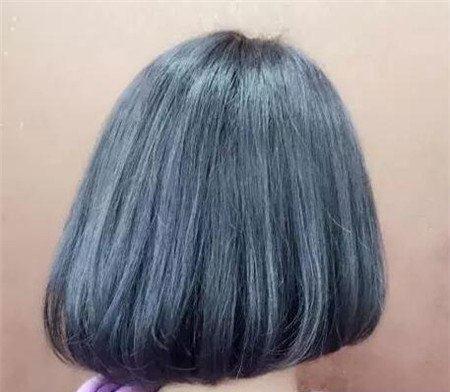 短发斜后切发型 今年流行发型 不规则沙宣发型1