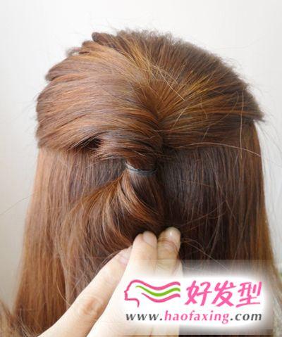 韩式发型扎法步骤图解 简单几步帮你打造淑女范儿