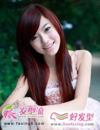 刘海新花样 甩掉呆板女人发型