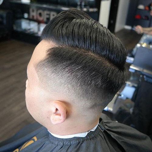 男生简单发型 男生渐变发型 简单渐变发型男7