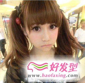 2013年清新靓丽的女生发型