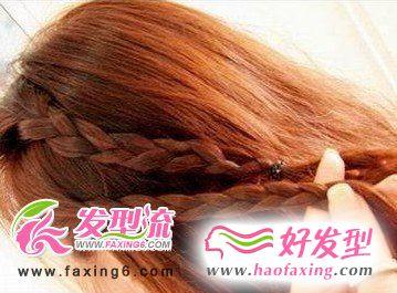 最耀眼的韩式发型扎法步骤