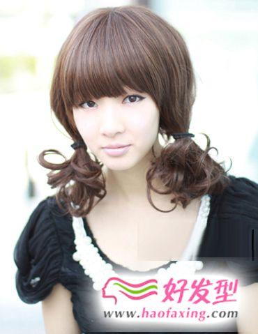 8款时尚女生发型,让你变身甜美少女