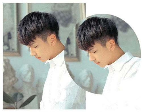 校园男生发型 小清新男生发型 校园清新发型2