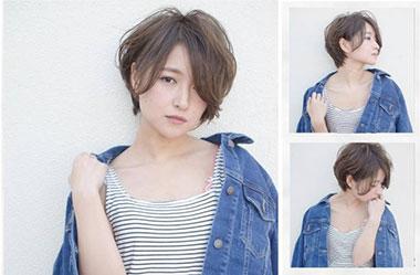 清爽女生短发 短发女生图片 日系短发发型14