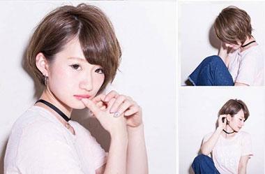 清爽女生短发 短发女生图片 日系短发发型16