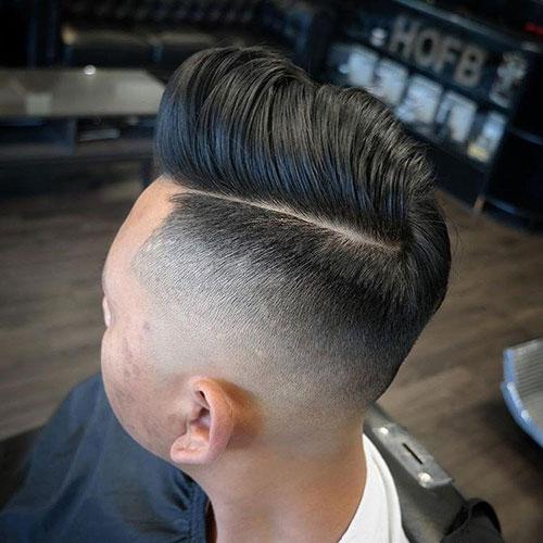 男生简单发型 男生渐变发型 简单渐变发型男3
