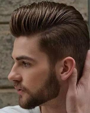欧美男生大背头发型怎么弄