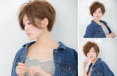 清爽女生短发 短发女生图片 日系短发发型18