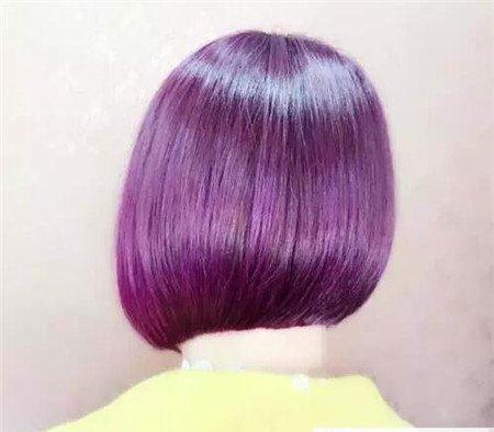 短发斜后切发型 今年流行发型 不规则沙宣发型7