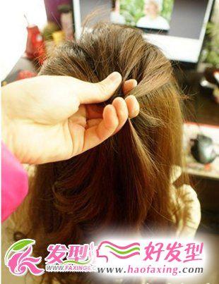 韩式马尾发型DIY  尽显甜美淑女气质