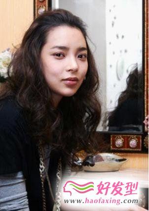 012女生卷发发型