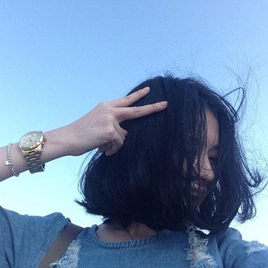 可爱女生短发 女生性感短发 短发女生图片1