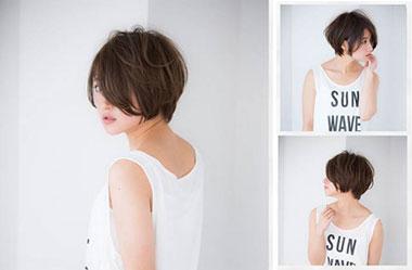 清爽女生短发 短发女生图片 日系短发发型13