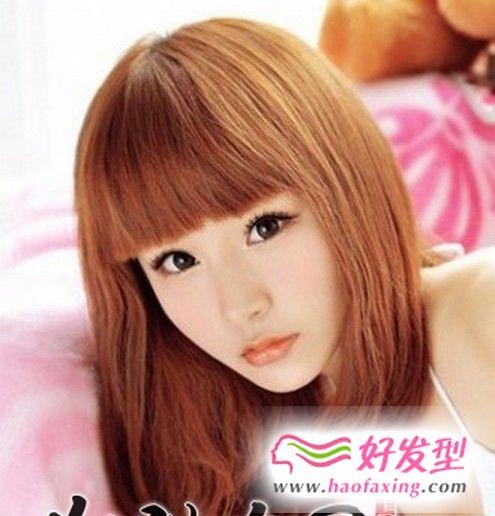 椭圆脸女生长头发发型图片 随意卷发性感不失甜美